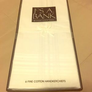 New in box Jos A Bank all cotton handkerchiefs
